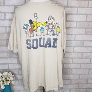 Nickelodeon Hey Arnold Squad Graphic T